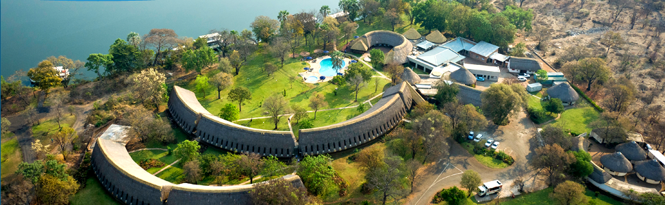 A Zambezi River Lodge Book Lodge in Victoria Falls Hotel in Zimbabwe