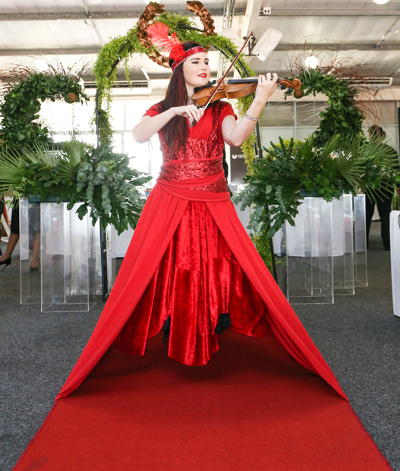 violinist in red400