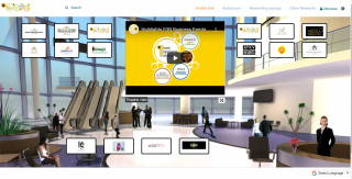 HOST YOUR VIRTUAL EXHIBITION OR TRADE SHOW ON EON'S VIRTUAL EXPO PLATFORM