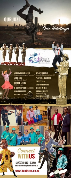 ENTERTAINMENT FOR HERITAGE MONTH